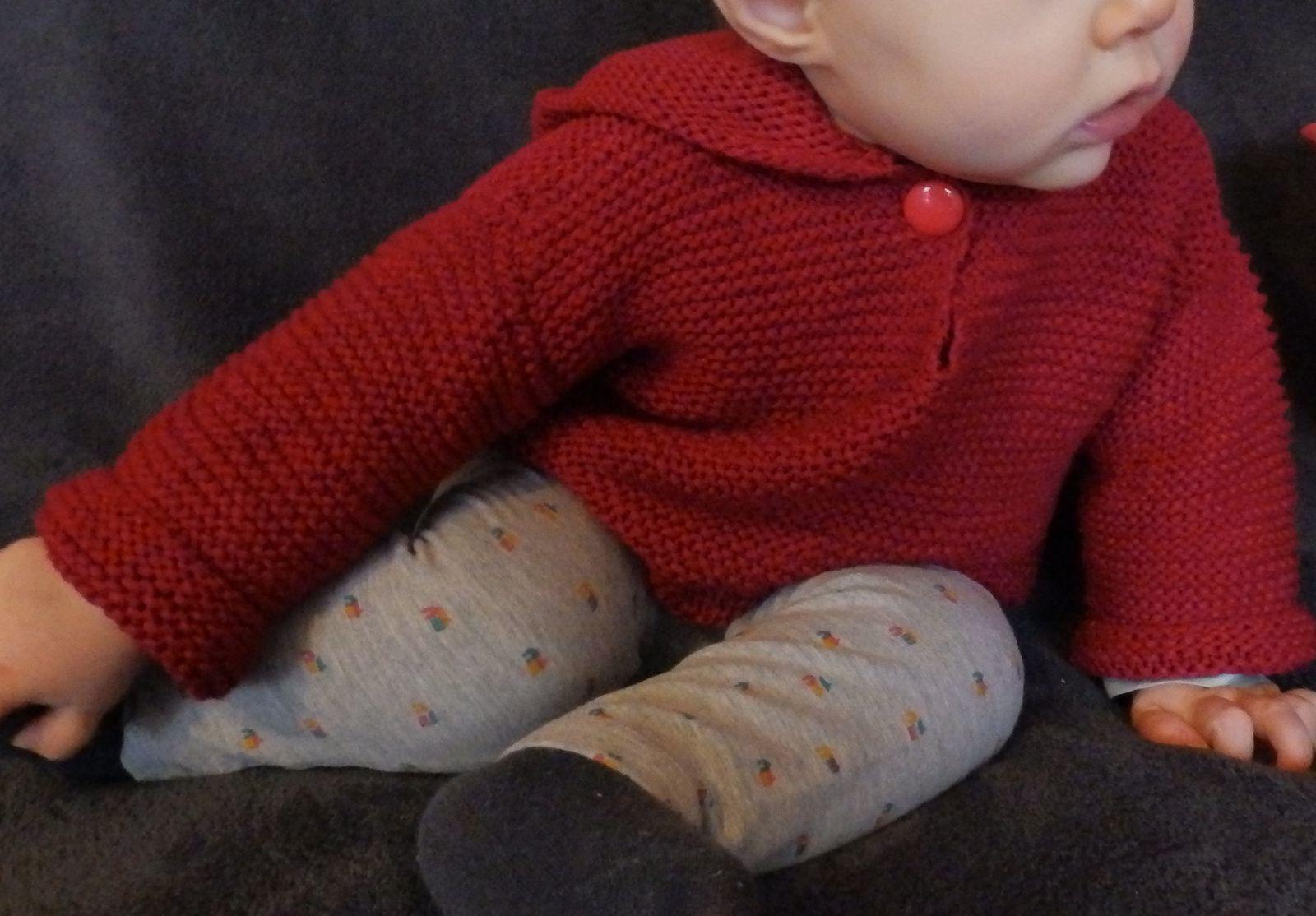 Mon petit chaperon rouge, modèle phildar.
