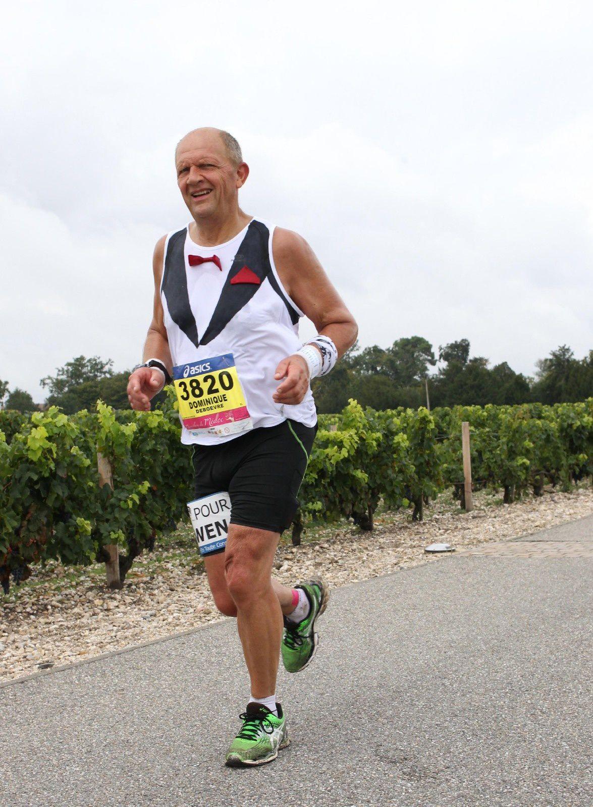 Mon quatorzième Marathon : Le Médoc