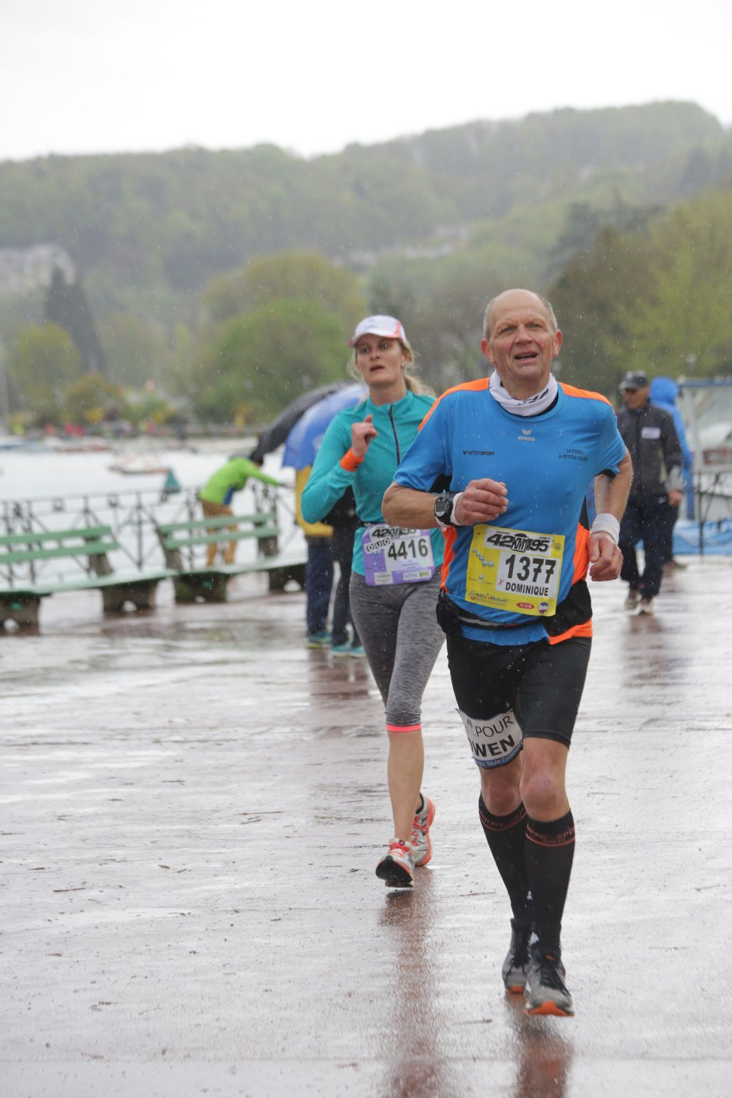 Mon Quinzième Marathon : Annecy