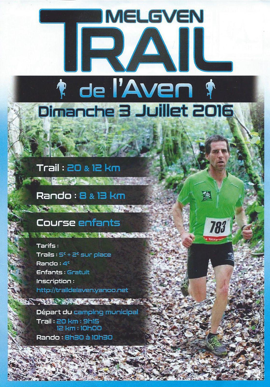 Trail de l'Aven 2016