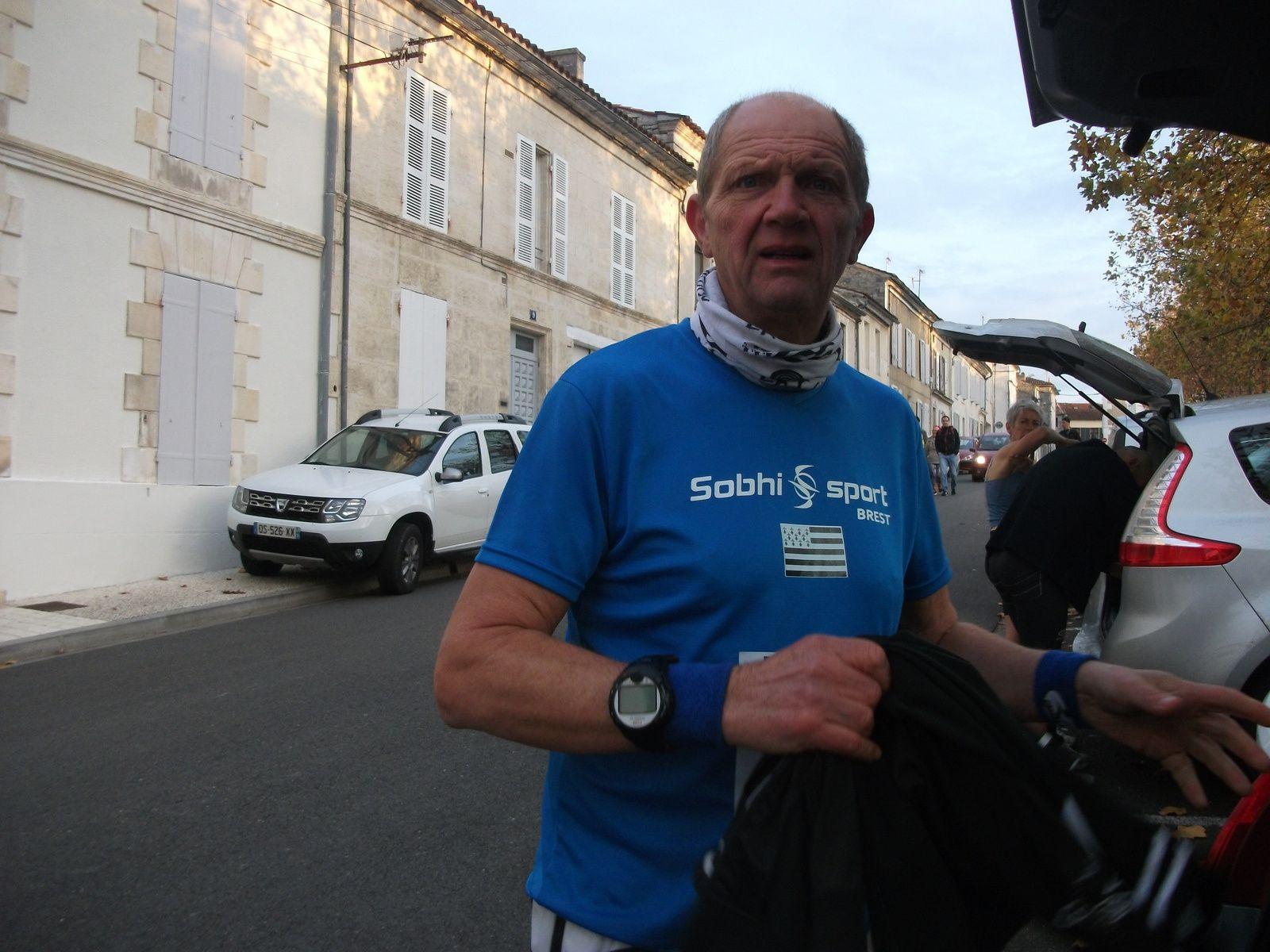 Mon Seizième Marathon : Marathon du Cognac