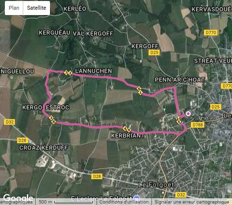Les 10 kms de Lesneven 2017