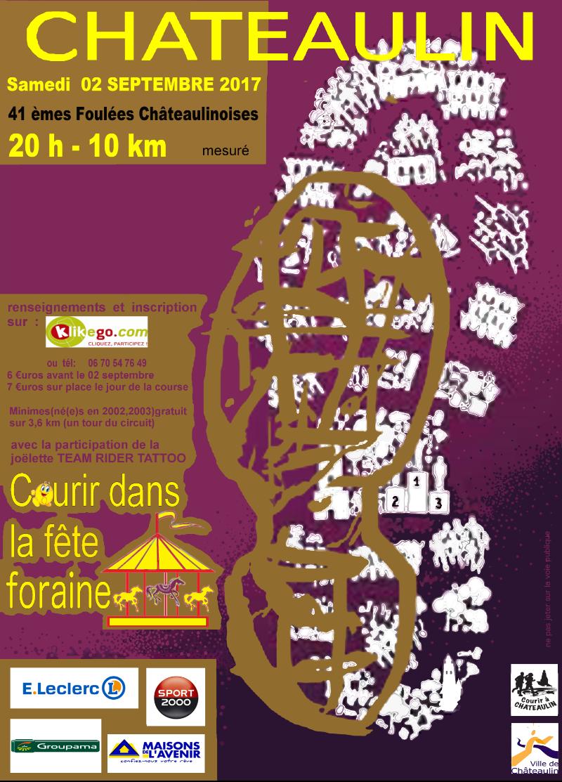 41 èmes Foulées Châteaulinoises