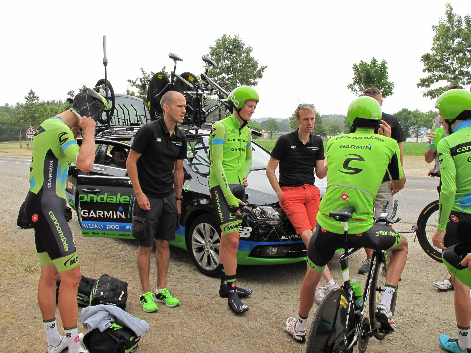 Equipe pro Cannondale