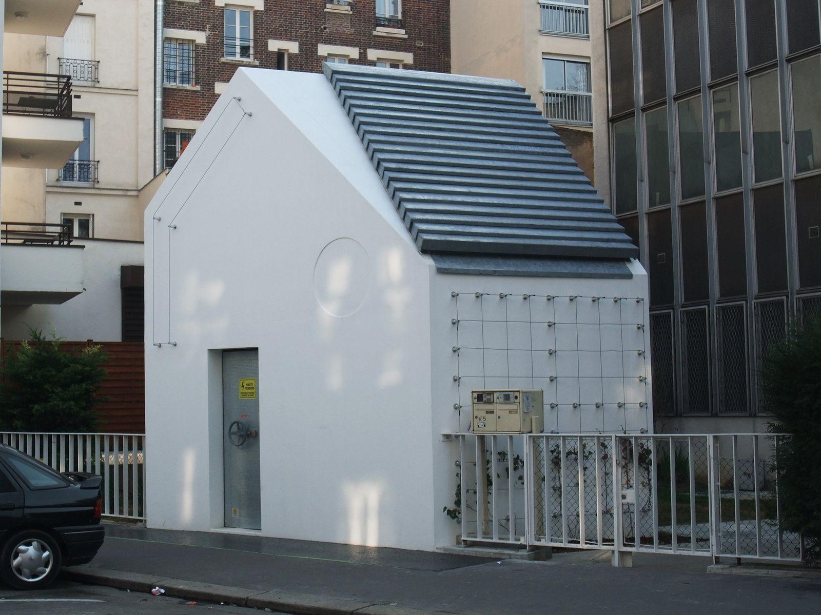 L'Évent* de la rue Castagnary est terminé. L'exemple de l'insertion urbaine d'un ouvrage technique réussie.