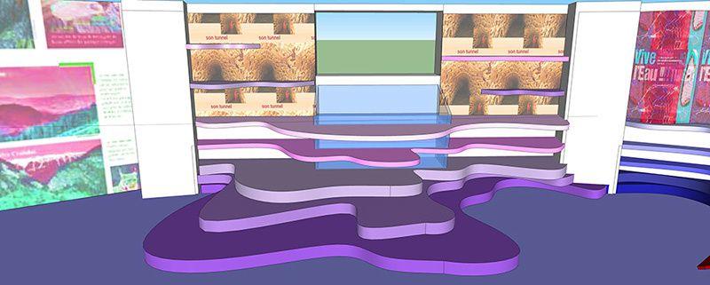 Extraits de modélisations 3D