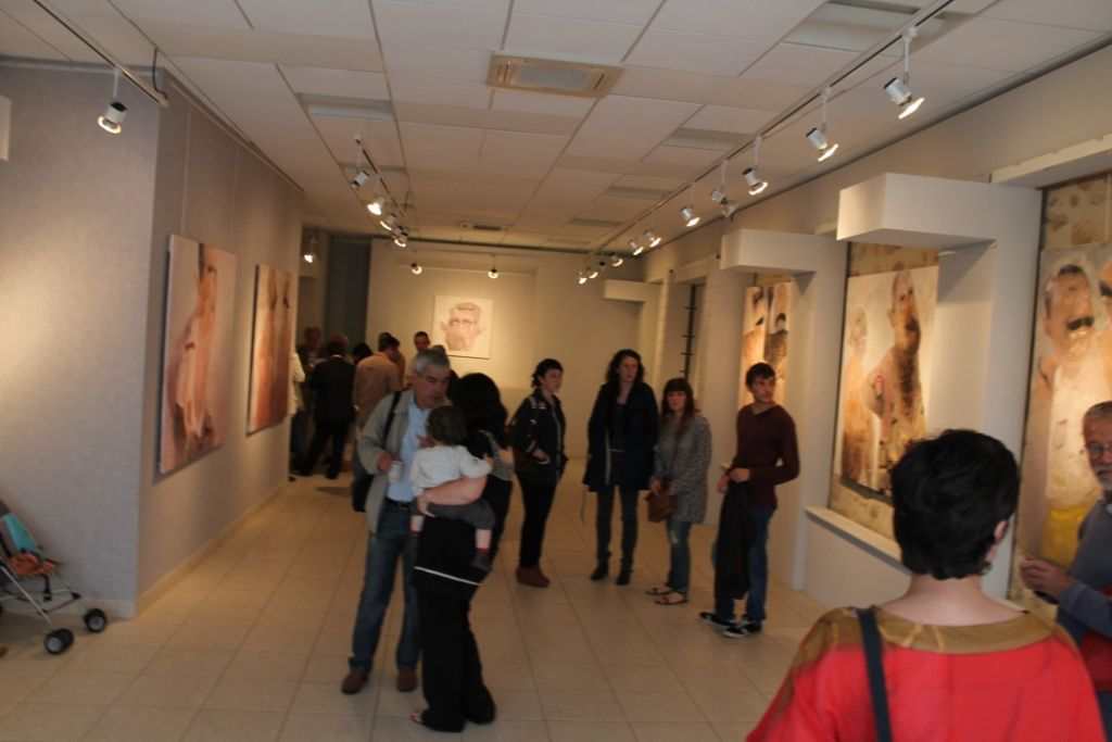 Exposition à Saint Junien, France, galerie des Consuls, 2013