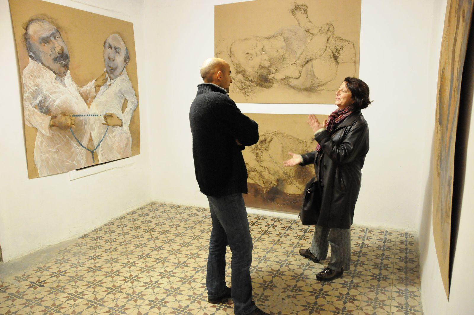 Exposition privée, atelier de Damas, 2010