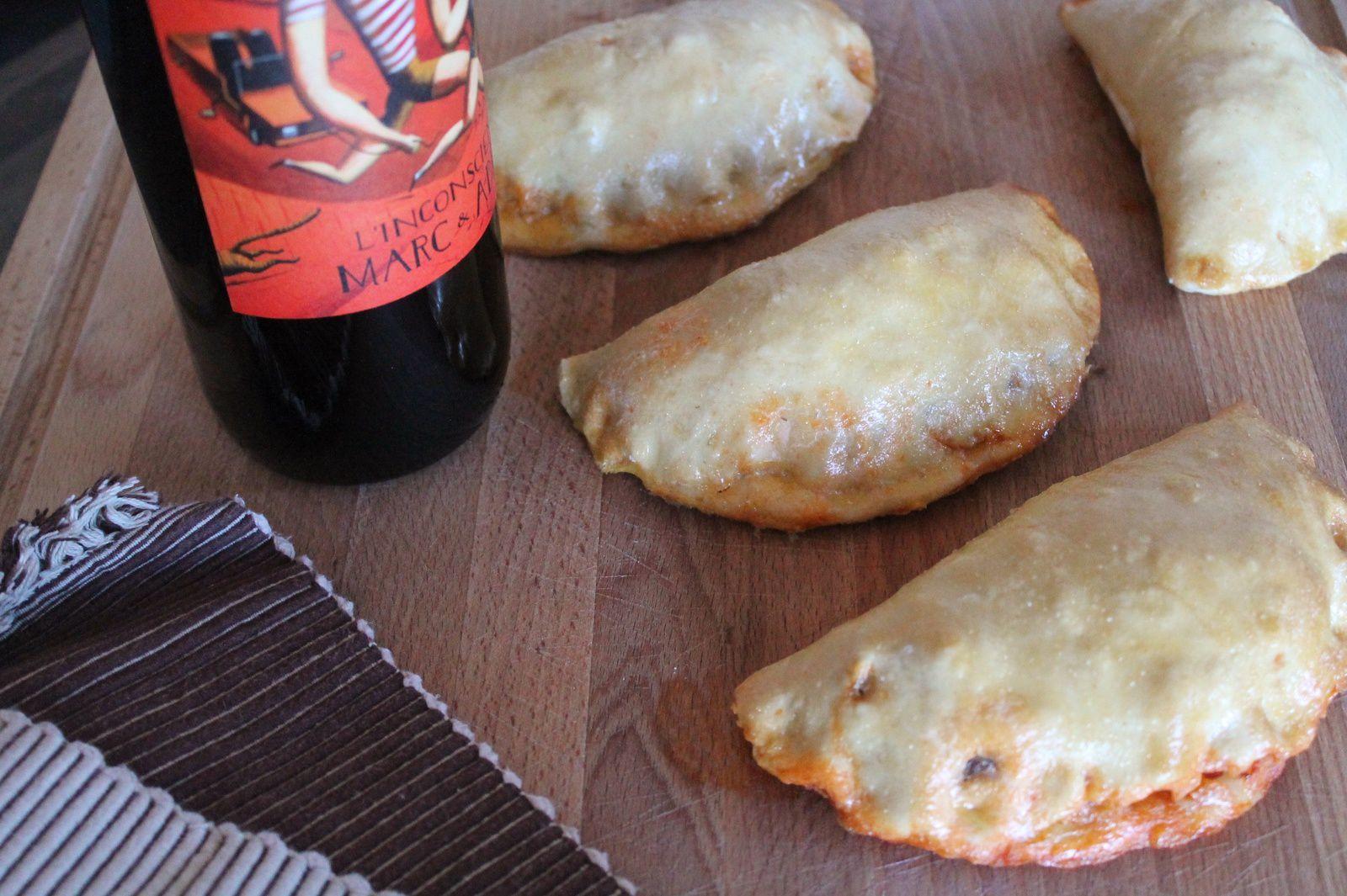 empanada chorizo i llom