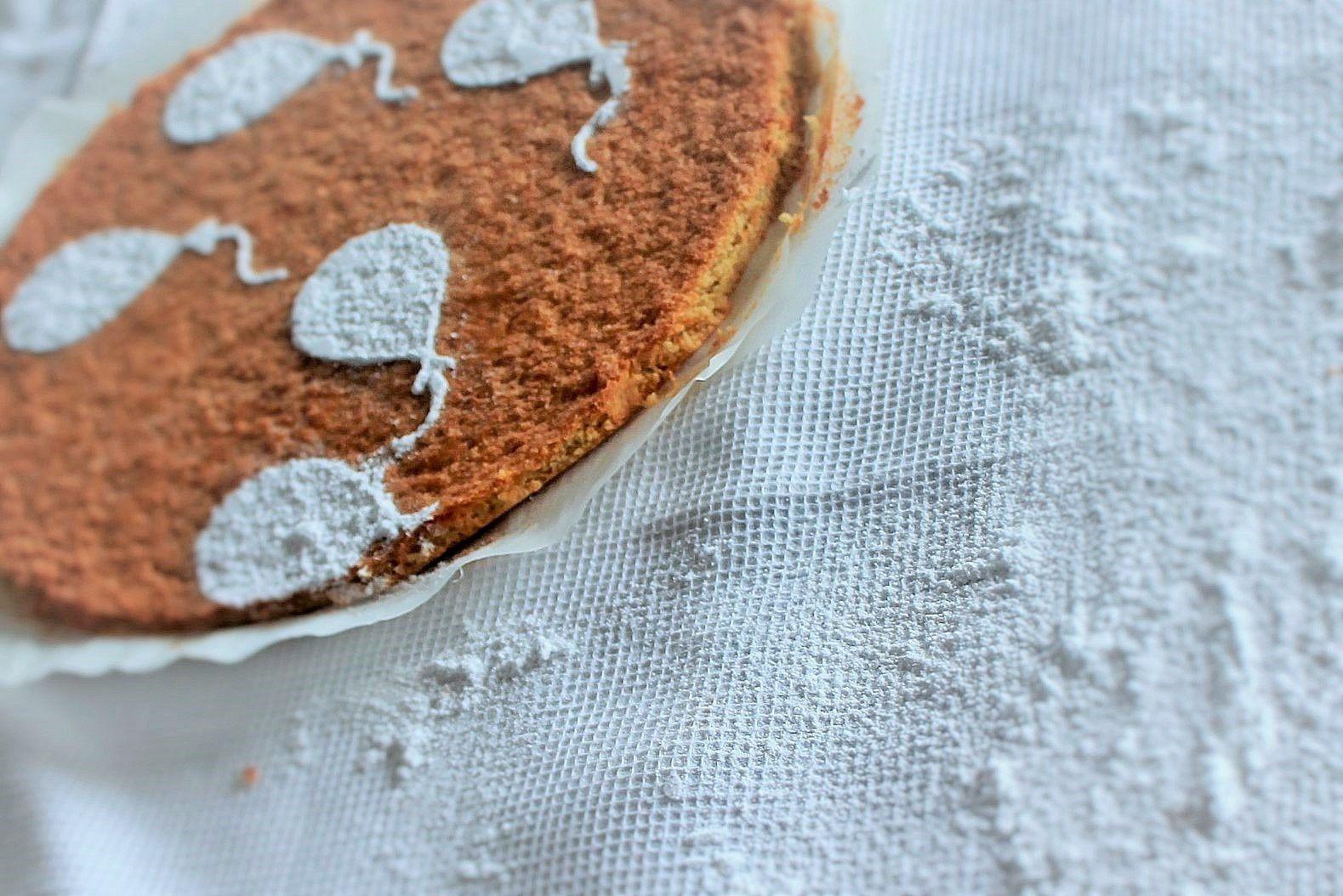 tarte de Santiago selon Ferran Adrià (sans gluten sans beurre)