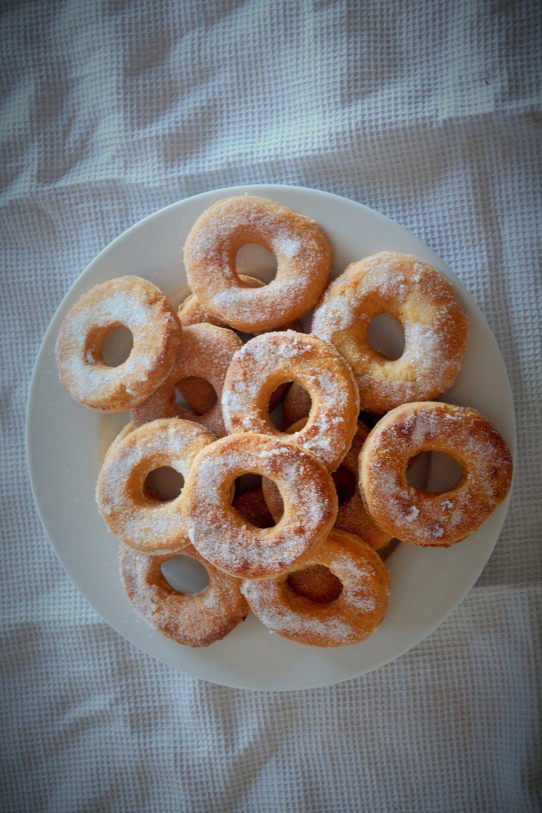 donuts de boniato (donuts de patate douce)