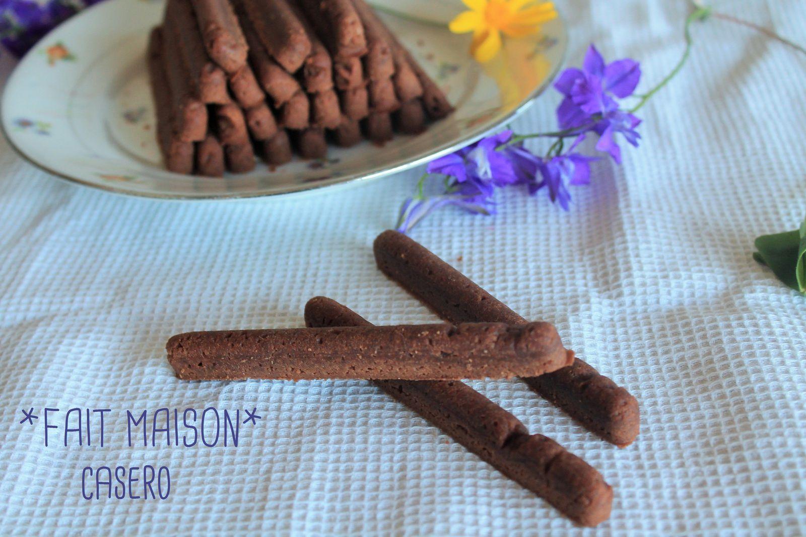 sticks xocolata ( sticks chocolat)