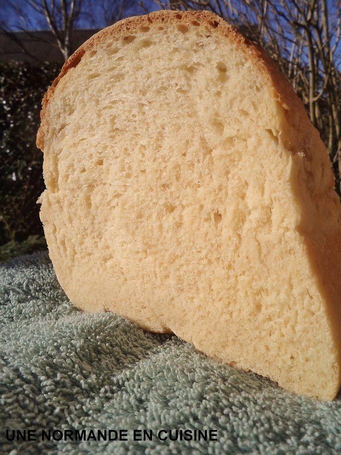 Pain de mie à la farine de maïs