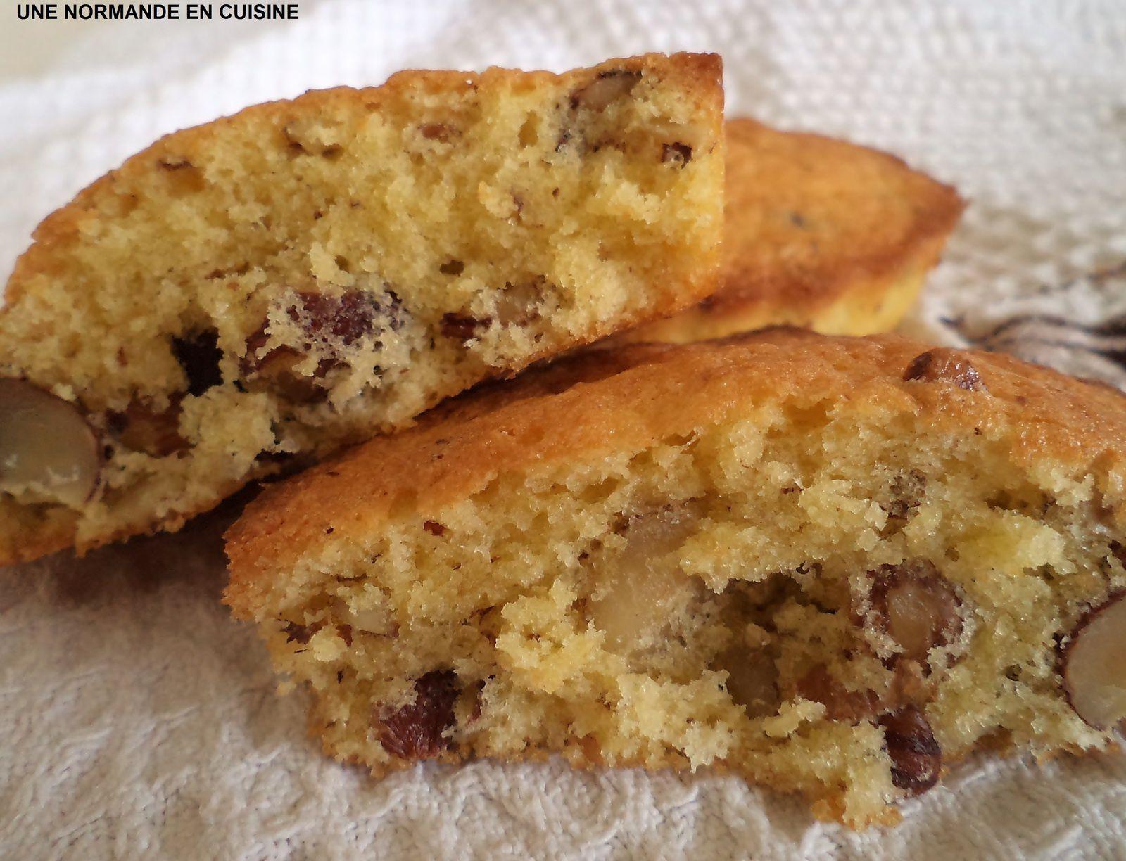 Petits gâteaux aux noisettes