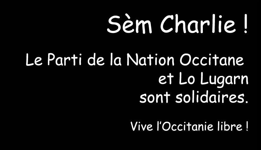 Charlie Hebdo : Contra la barbariá lo Paratge
