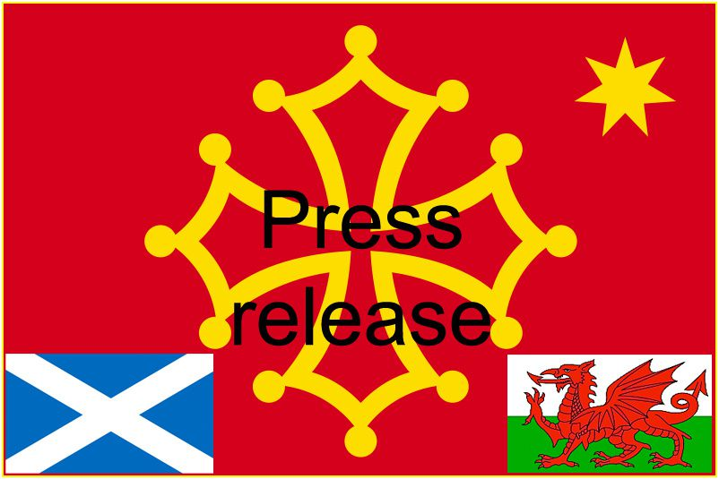 The Occitan Nation Party congratulates the Scottish National Party and the Plaid Cymru.