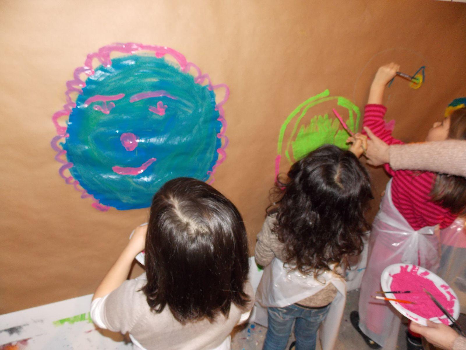 Mardi 2 Décembre visite école maternelle Saushiem FONDETION FERNET BRANCA