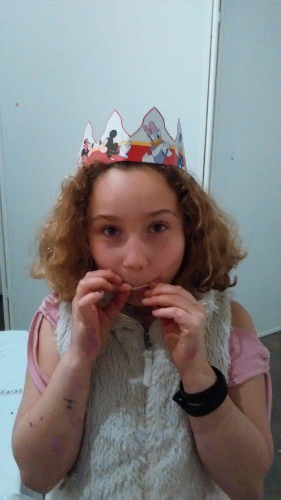 La galette des rois ou plutôt la galette de la reine