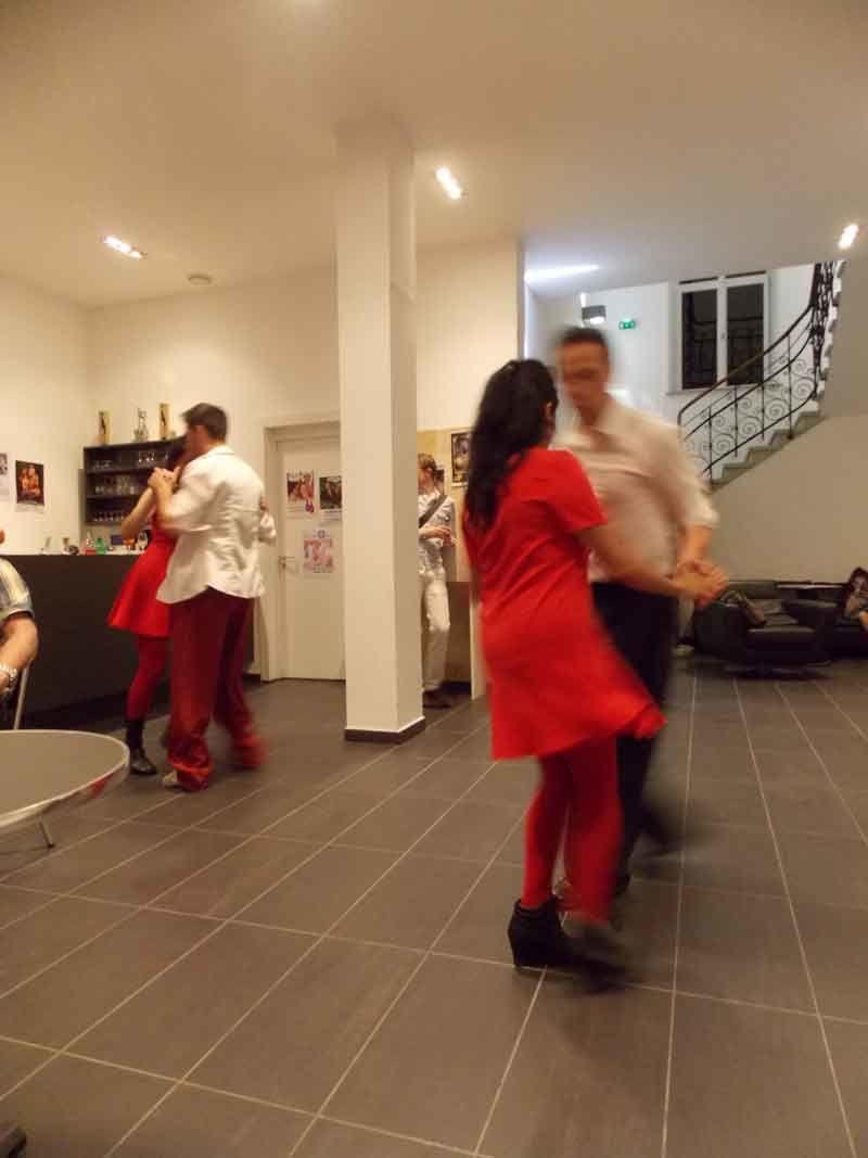 Belle soirée à la fondation Fernet-Branca Samedi 6 juin 2015 avec la compagnie Nestro