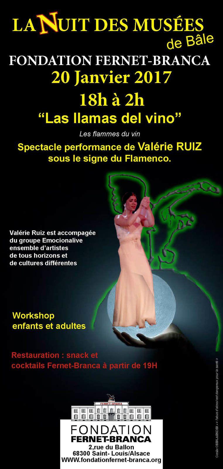 La nuit des musées de Bâle 2017 a la Fondation FERNET-BRANCA