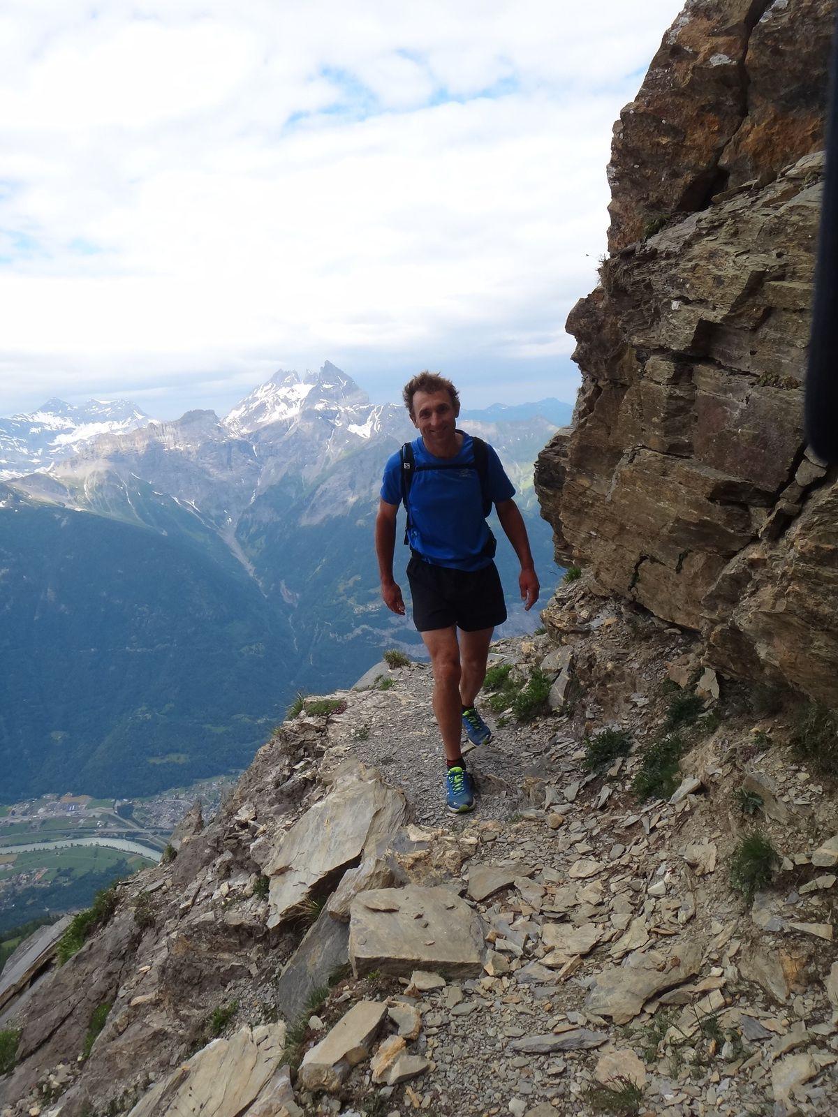 Trail plaisir Tour: Morcles-Anzère