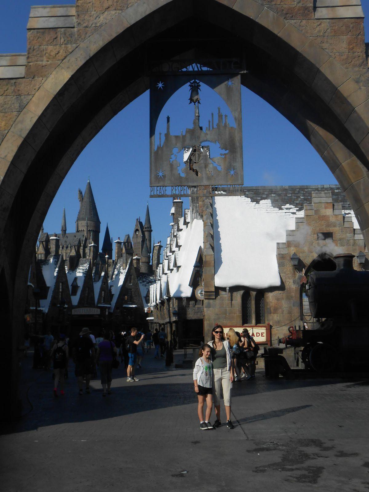 Harry Potter au studio universal à Orlando