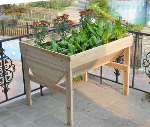 Raised Planting Tables