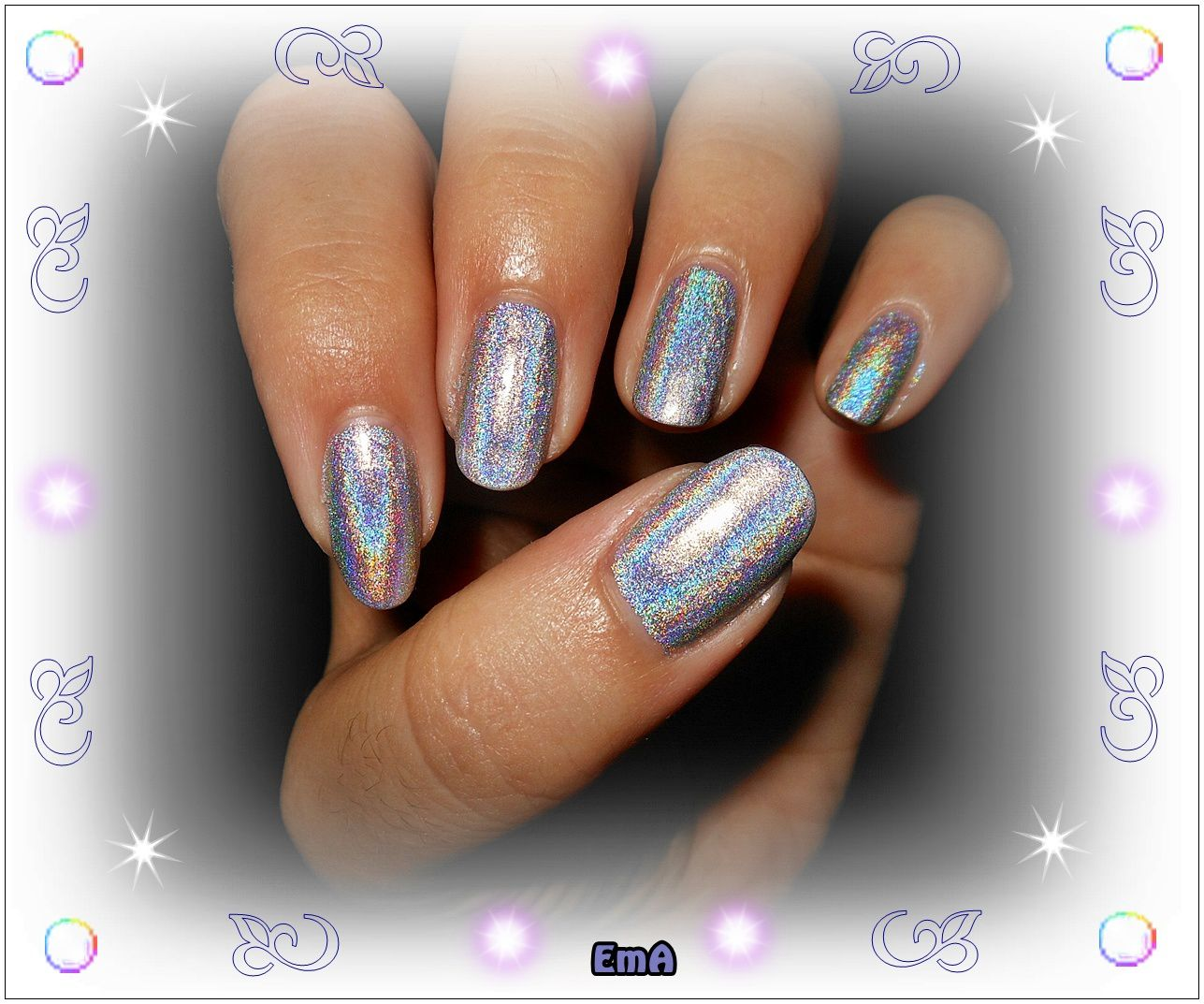 Color club holographic - Harp on it