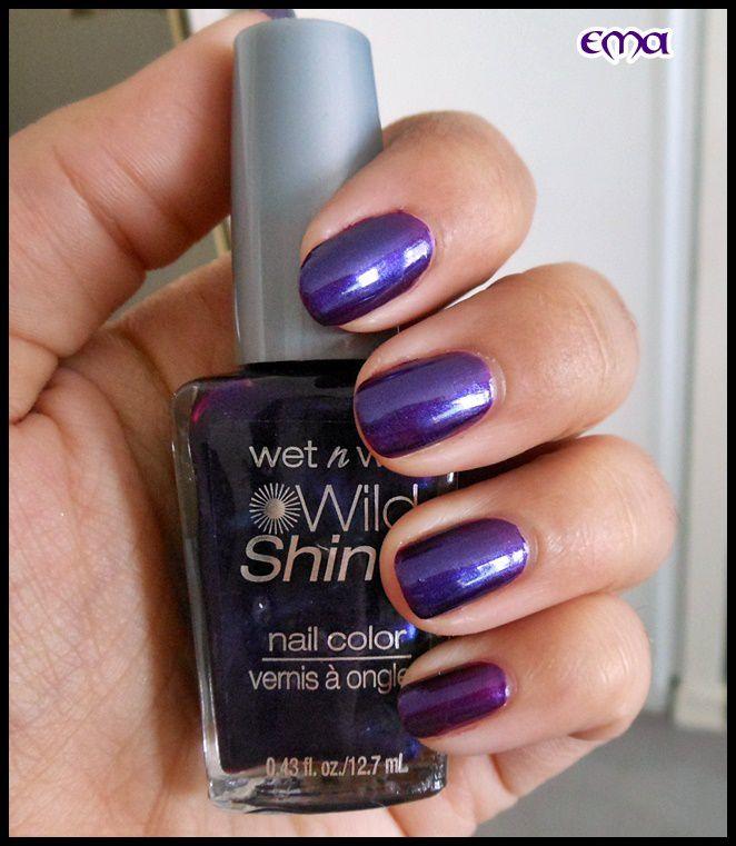 Wet n Wild violet