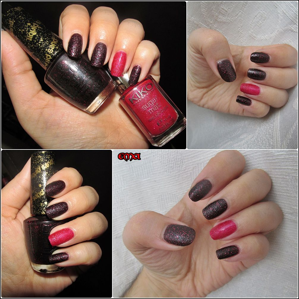 Duo OPI, stay the night et kiko sugar