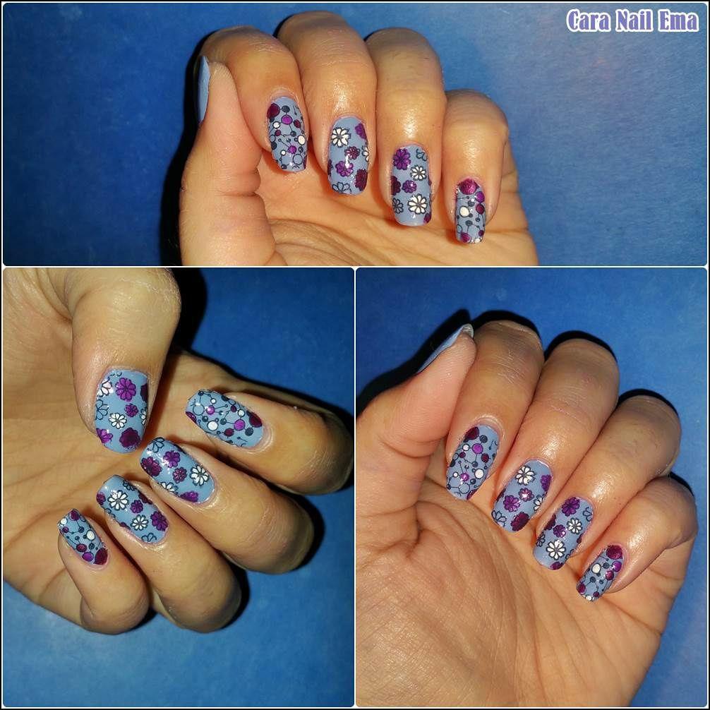 Nail art challenge &quot&#x3B;Stamping reverse&quot&#x3B;