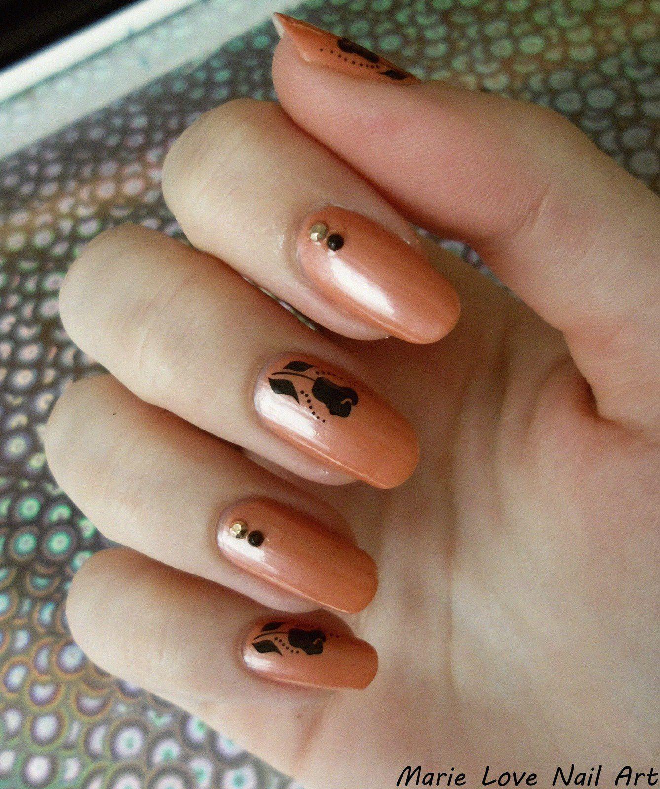 Nail art - Romantique