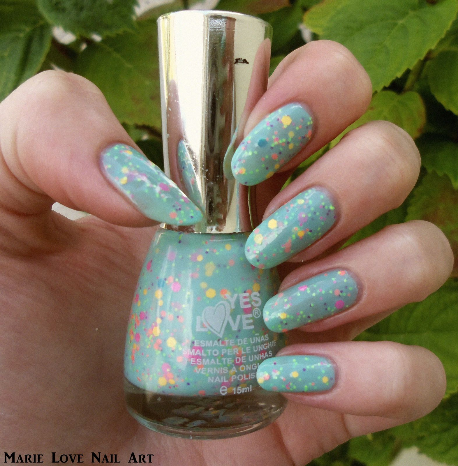 Yes Love - Neon Glitter