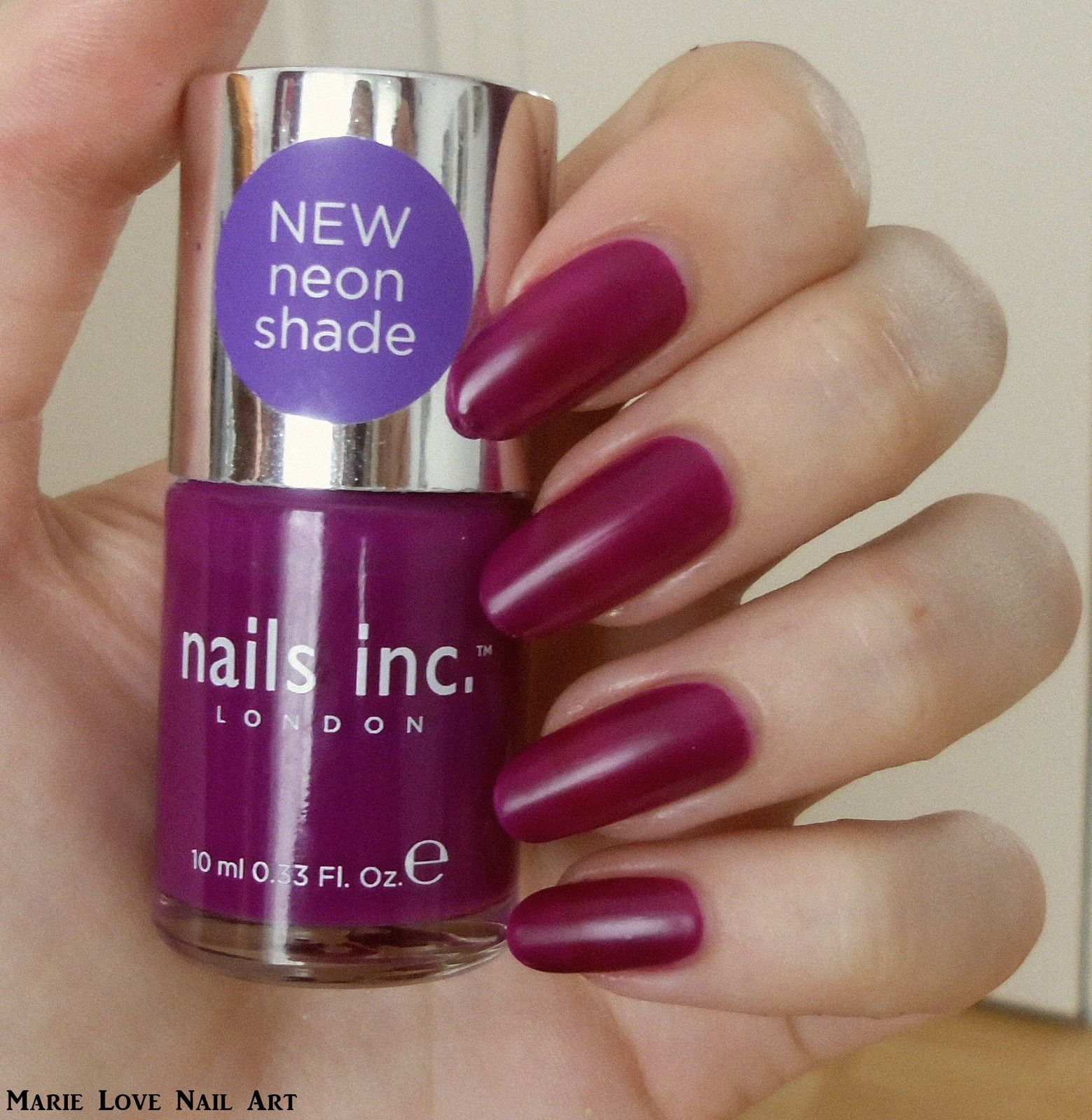 NailS Inc Neon Shade - Holland Park n°163