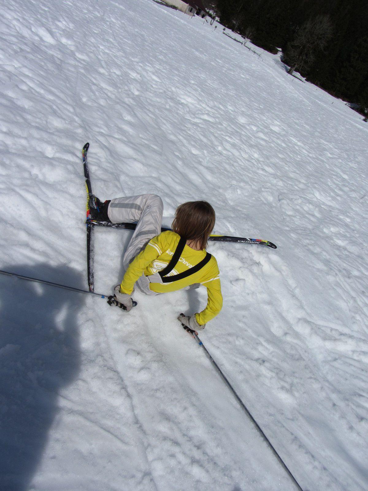 Les sorties &quot&#x3B;ski de fond&quot&#x3B; : avant, pendant, après... la gamelle!
