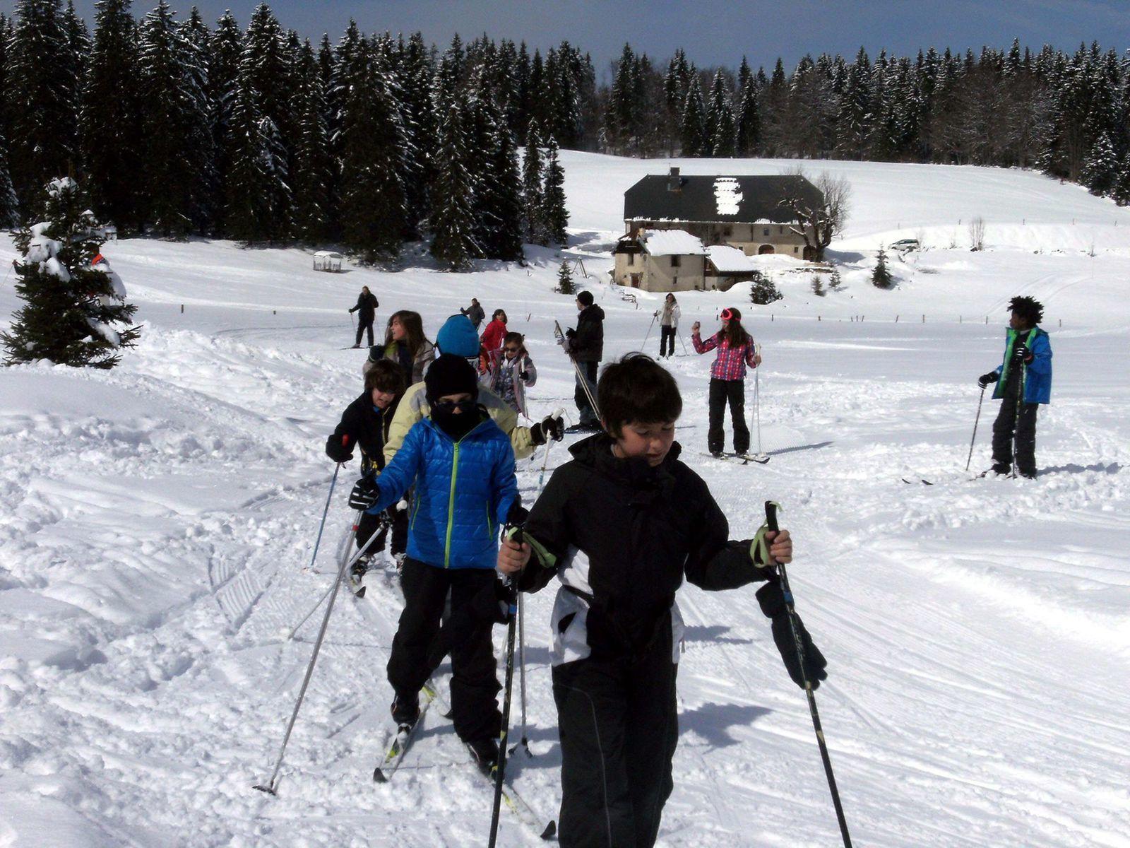 Les sorties &quot&#x3B;ski de fond&quot&#x3B;: photos collectives
