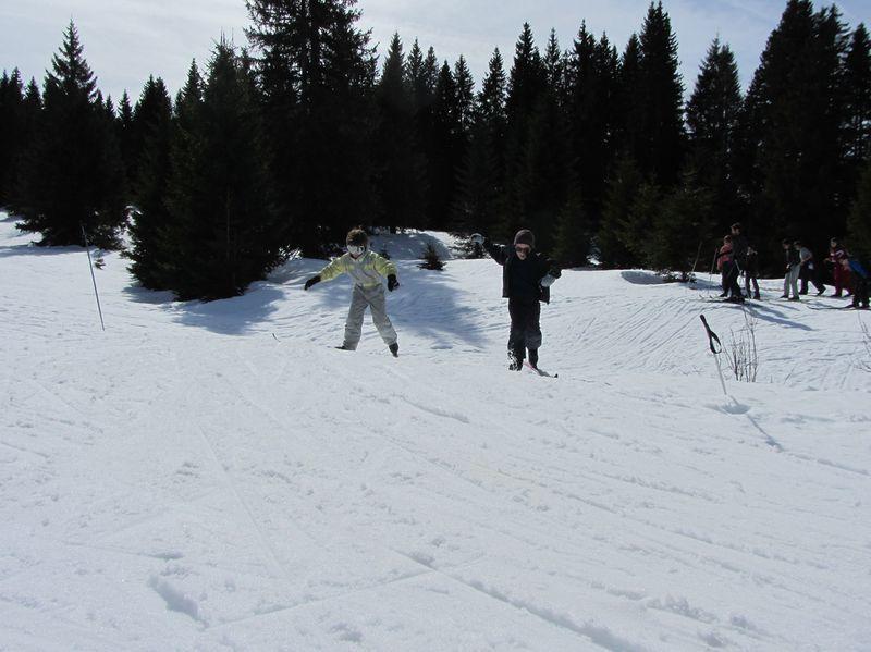 Les sorties &quot&#x3B;ski de fond&quot&#x3B; sortie 2: les duels!