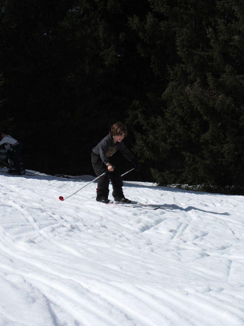 Les sorties &quot&#x3B;ski de fond&quot&#x3B;: photos individuelles des Cm1