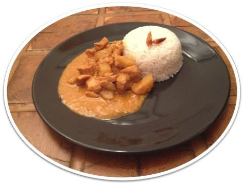 Curry Massaman de poulet