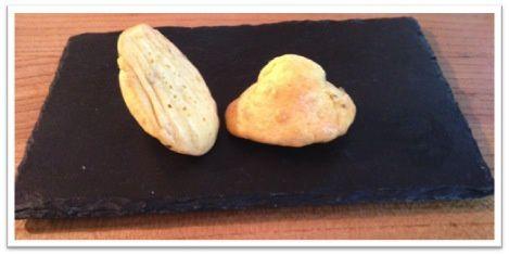 Madeleines salées au fromage de Langres