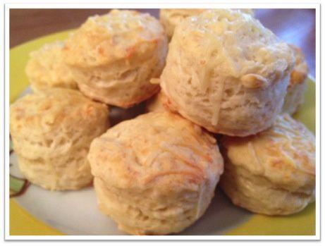 Scones au fromage