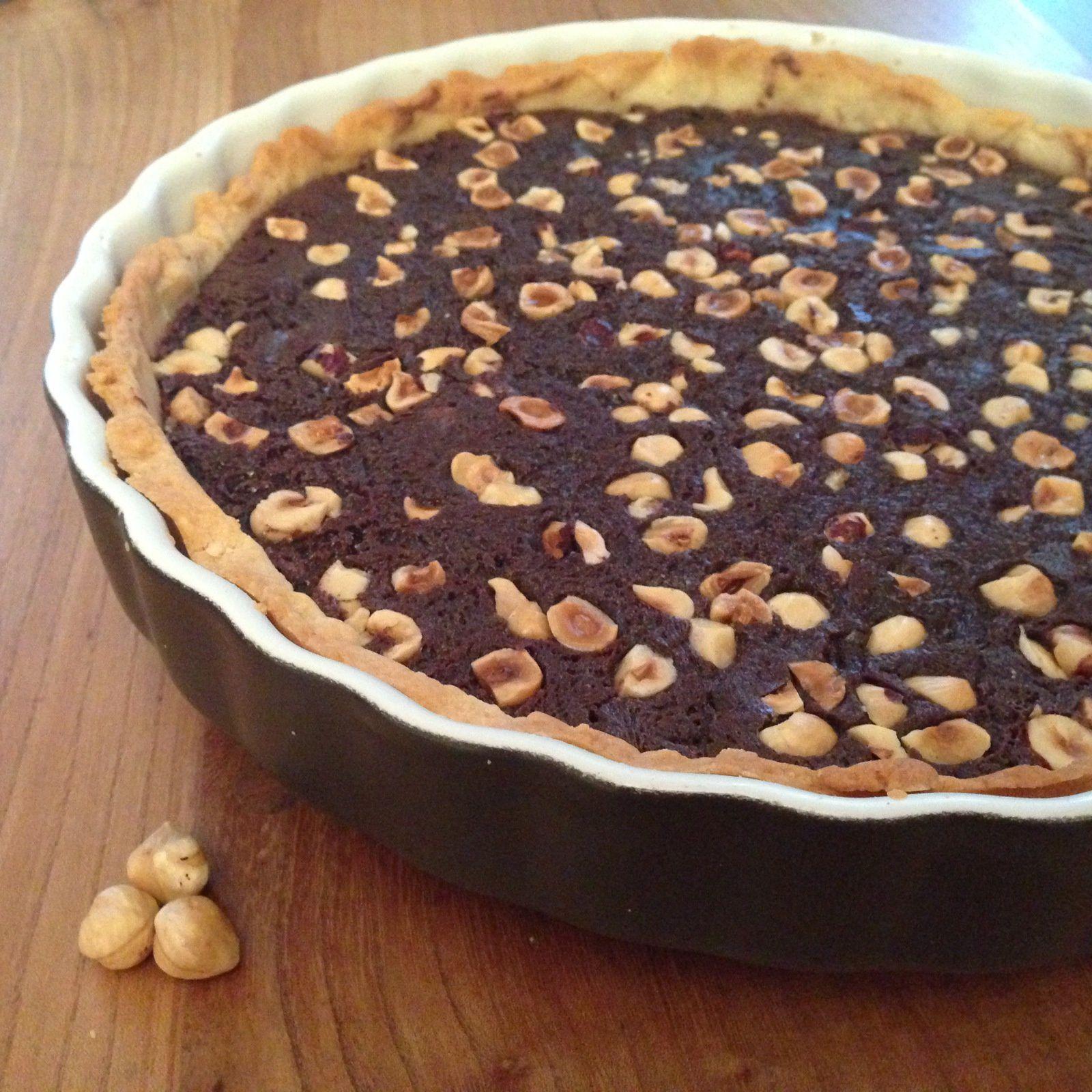 Tarte au Nutella et Chocolat de Pierre Hermé