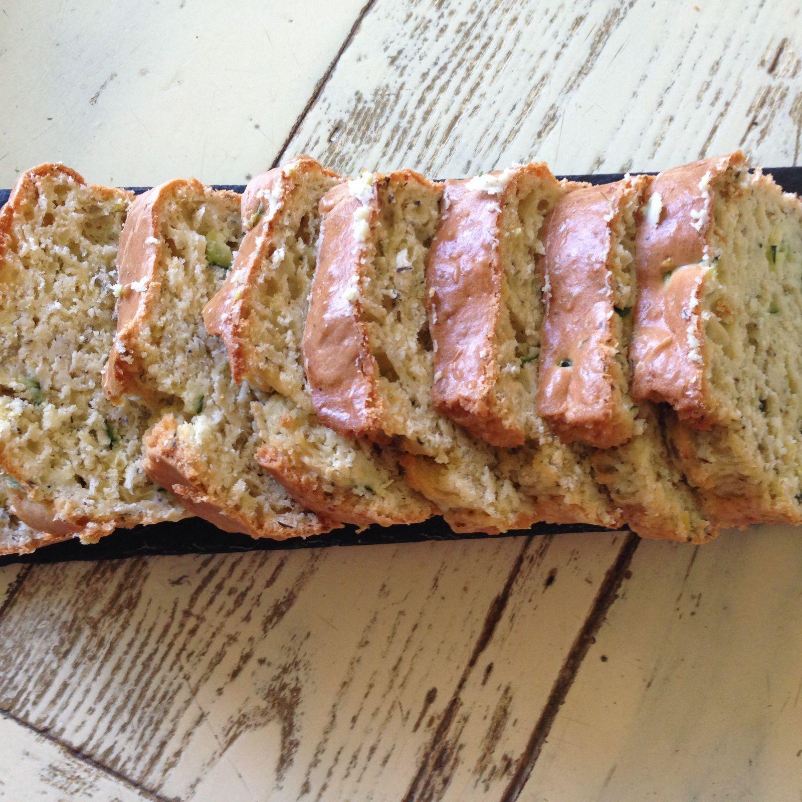 Cake Saumon Courgette Feta