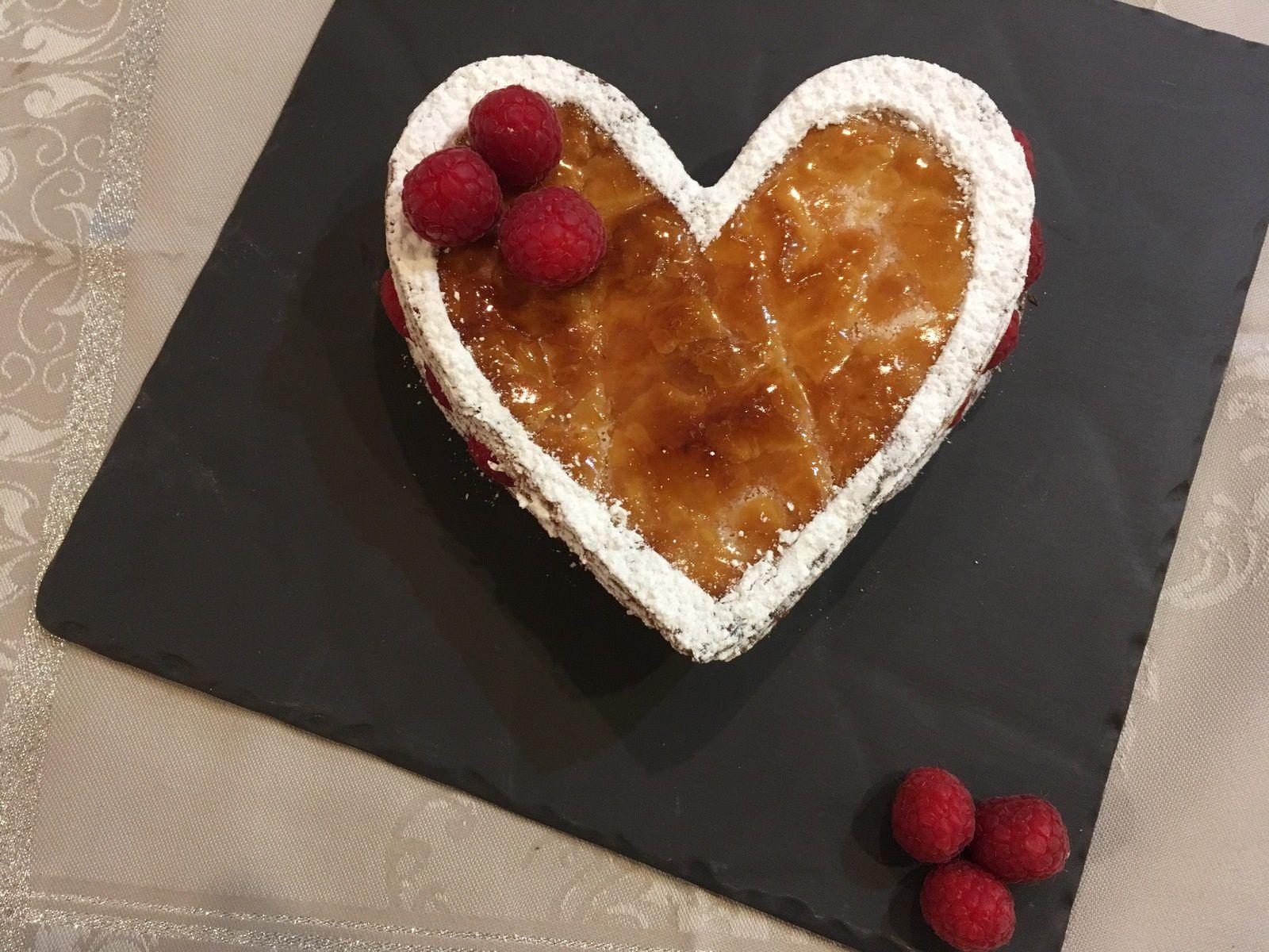 Millefeuille vanille-framboise