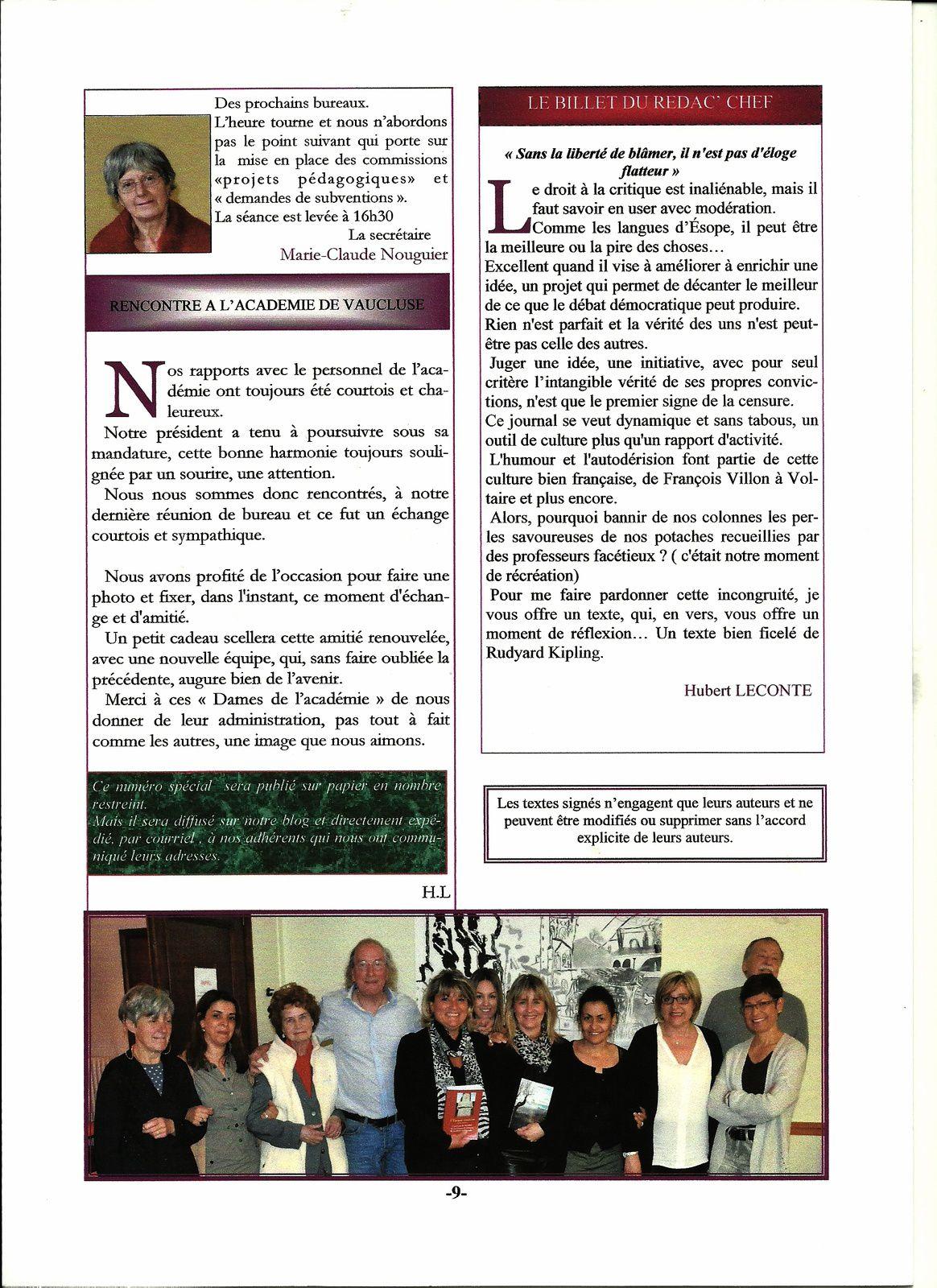 le journal de l 39 amopa vaucluse les palmes acad miques le blog amopa vaucluse 84 france