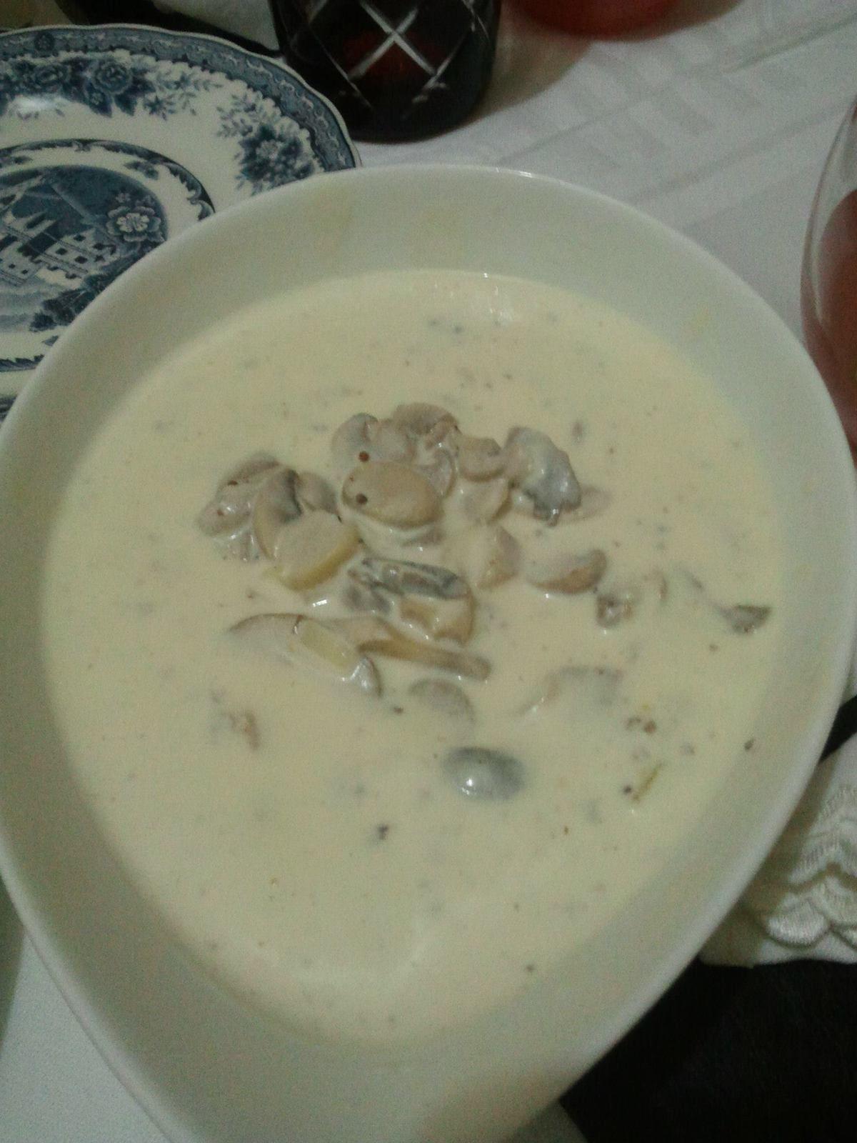 Sauce cr meuse aux champignons plaisir culinaire algerien - Peut on donner du riz cuit aux oiseaux ...