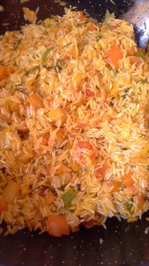 préparation du riz