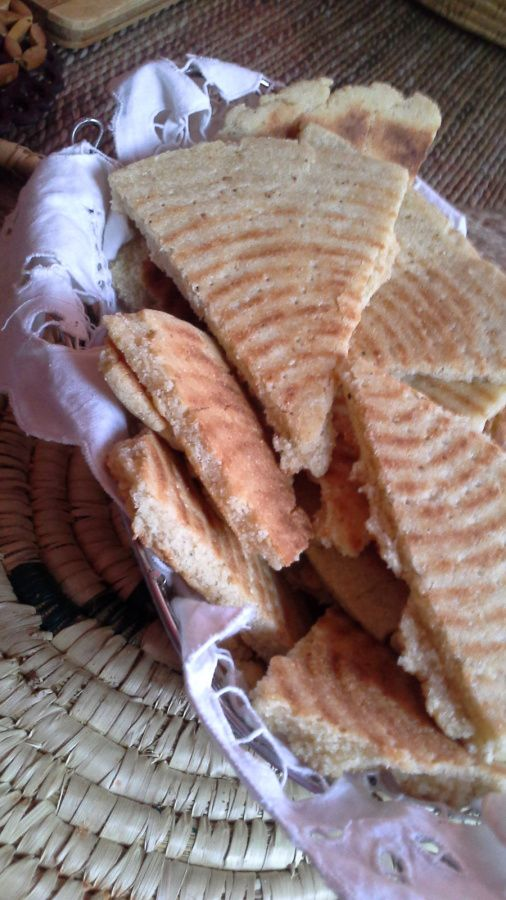 AGHROM AKORAN &quot&#x3B;galette de pain&quot&#x3B; Algérienne.
