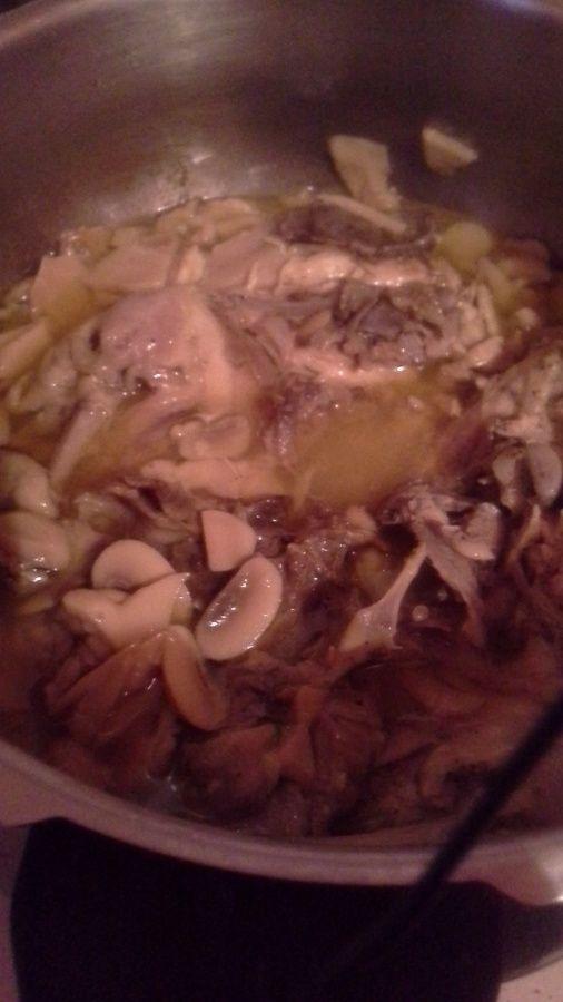 crêpes aux poulet