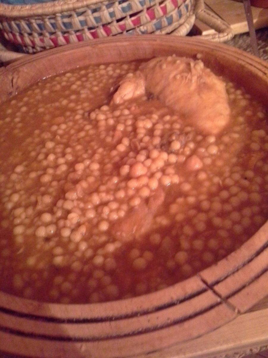 façon soupe dilué avec 1 ou 2 verres de bouillon de volaille